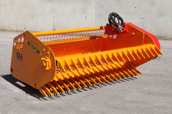 Rock Picker for Skid Steer RH